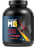 MuscleBlaze Weight Gainer (Chocolate, 3KG)