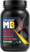 MuscleBlaze Weight Gainer (Banana, 1KG)