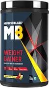 MuscleBlaze Weight Gainer (Kesar Pista Badam, 500GM)