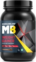 MuscleBlaze Weight Gainer (Chocolate, 1KG)