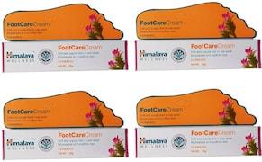 Himalaya Wellness Foot Care Cream (20GM, Pack of 4)