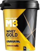 MuscleBlaze Whey Gold Isolate (Rich Milk Chocolate, 4KG)