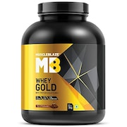 Muscleblaze Whey Gold Protein Isolate (Rich Milk Chocolate, 2KG)
