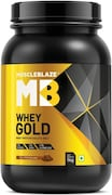 Muscleblaze Whey Gold Protein Isolate (Rich Milk Chocolate, 1KG)