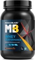 MuscleBlaze Whey Performance (Chocolate, 1KG)