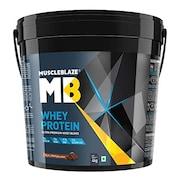 MuscleBlaze Whey Prime Ultra Premium Whey Blend (Rich Milk Chocolate, 4KG)