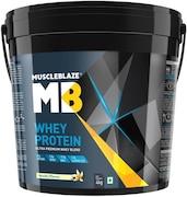 MuscleBlaze Whey Protein (Vanilla, 4KG)