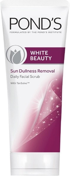 Ponds White Beauty Sun Dullness Removal Scrub (50GM)