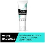 Olay White Radiance Advanced Whitening Fairness Brightening Foaming Face Wash Cleanser (100GM)