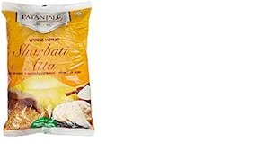 Patanjali Whole Wheat Flour (1KG, Pack of 2)