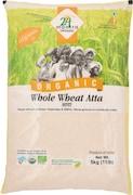 24 Mantra Organic Whole Wheat Flour (5KG)