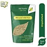 B&B Organics Wild Bajra Flour (500GM)