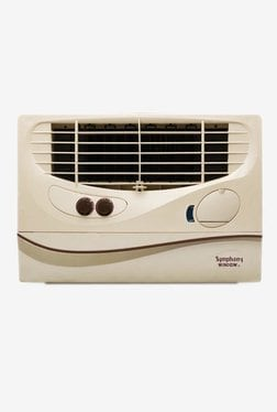 Symphony Window Air Cooler (Beige, 51 L)