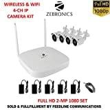 Zebronics Wireless Bullet HD Wifi CCTV Security Camera