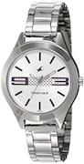 Fastrack Women Analog Watch - NK6153SM01 (Silver)