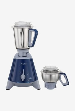 Preethi X Pro Duo 1300W Mixer Grinder (Blue, 2 Jar)