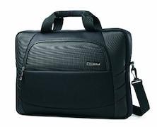 Samsonite Xenon Slim Briefcase (Black, 17.3 Inch)