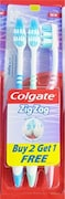 Colgate ZigZag Deep Cleaning Tooth Brush (Pack of 3)