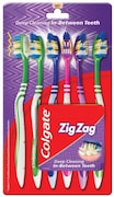 Colgate ZigZag Deep Cleaning Tooth Brush (Pack of 6)