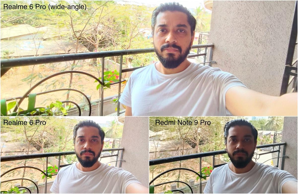 realme 6 pro vs redmi note 9 pro selfies 1585310428166